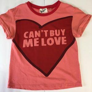 "Alice + Olivia Beatles ""Can't buy me love"" Top"
